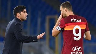 """Fonseca: """"Rifarei ogni scelta, anche togliere la fascia a Dzeko. Domani gioca"""""""
