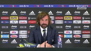 """Juve, Pirlo: """"Ho sempre sentito la fiducia dei giocatori"""""""
