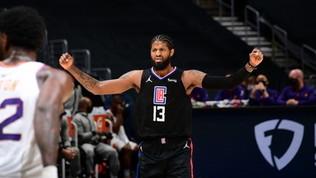 Nba: Phoenix ko in casa dei Clippers, Utah si rialza. Bene i Mavs di Melli