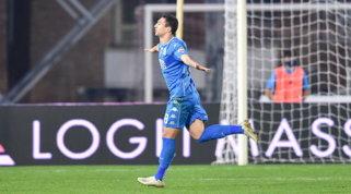 Matos stende la Reggiana, l'Empoli allunga in vetta alla classifica