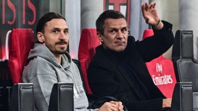 """Maldini: """"Vicinissimi al rinnovo con Ibrahimovic: siamo ai dettagli"""""""