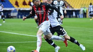 Parma-Milan, le immagini del match