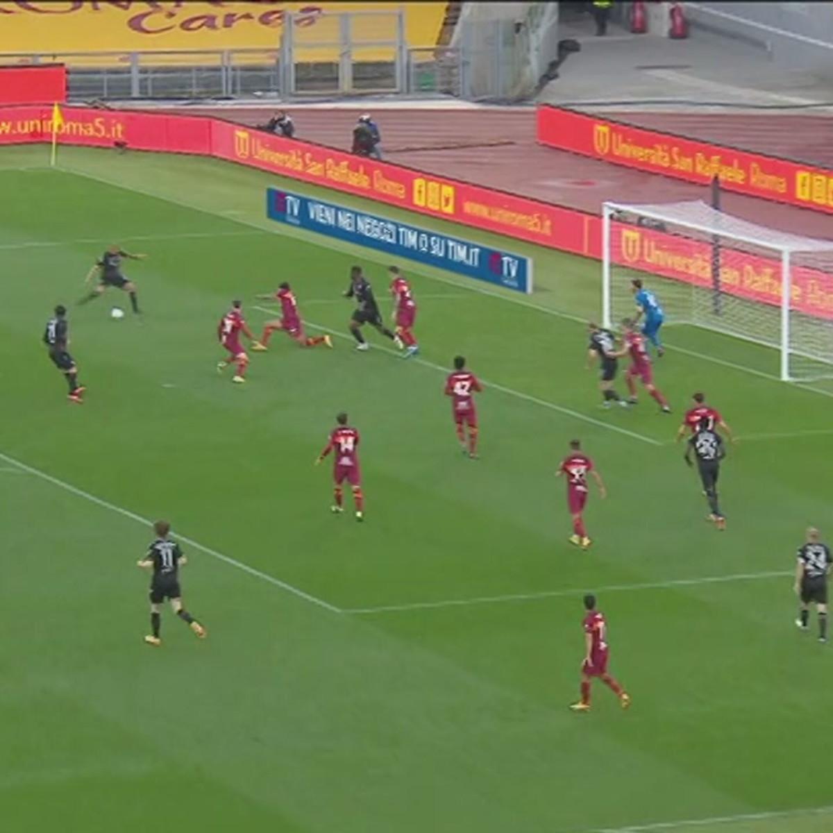 Roma-Bologna 1-0: gli highlights