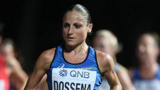 Sara Dossena in ripresa per le Olimpiadi
