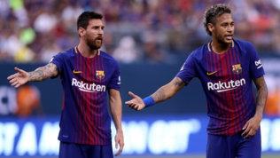 Messi rivuole Neymaral Barcellona: così l'addio sarebbe scongiurato