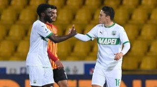 Benevento-Sassuolo: le foto del match
