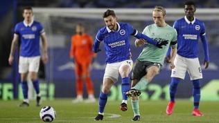 Premier League: brutto pari per l'Everton di Ancelotti, zona Champions a -7