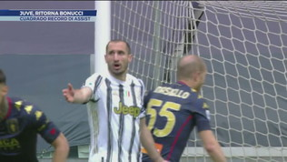 Juve, buona notizia: ritorna Bonucci