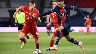 Lo spettacolo di Psg-Bayern in foto