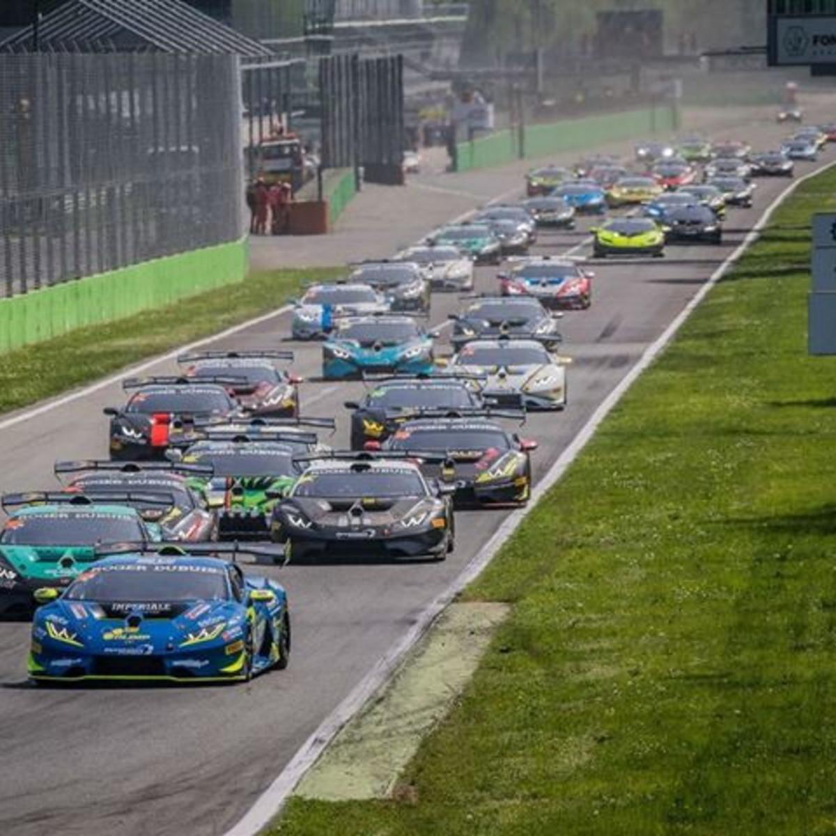 Countdown Lamborghini Super Trofeo: si comincia a Monza con oltre 30Huracán
