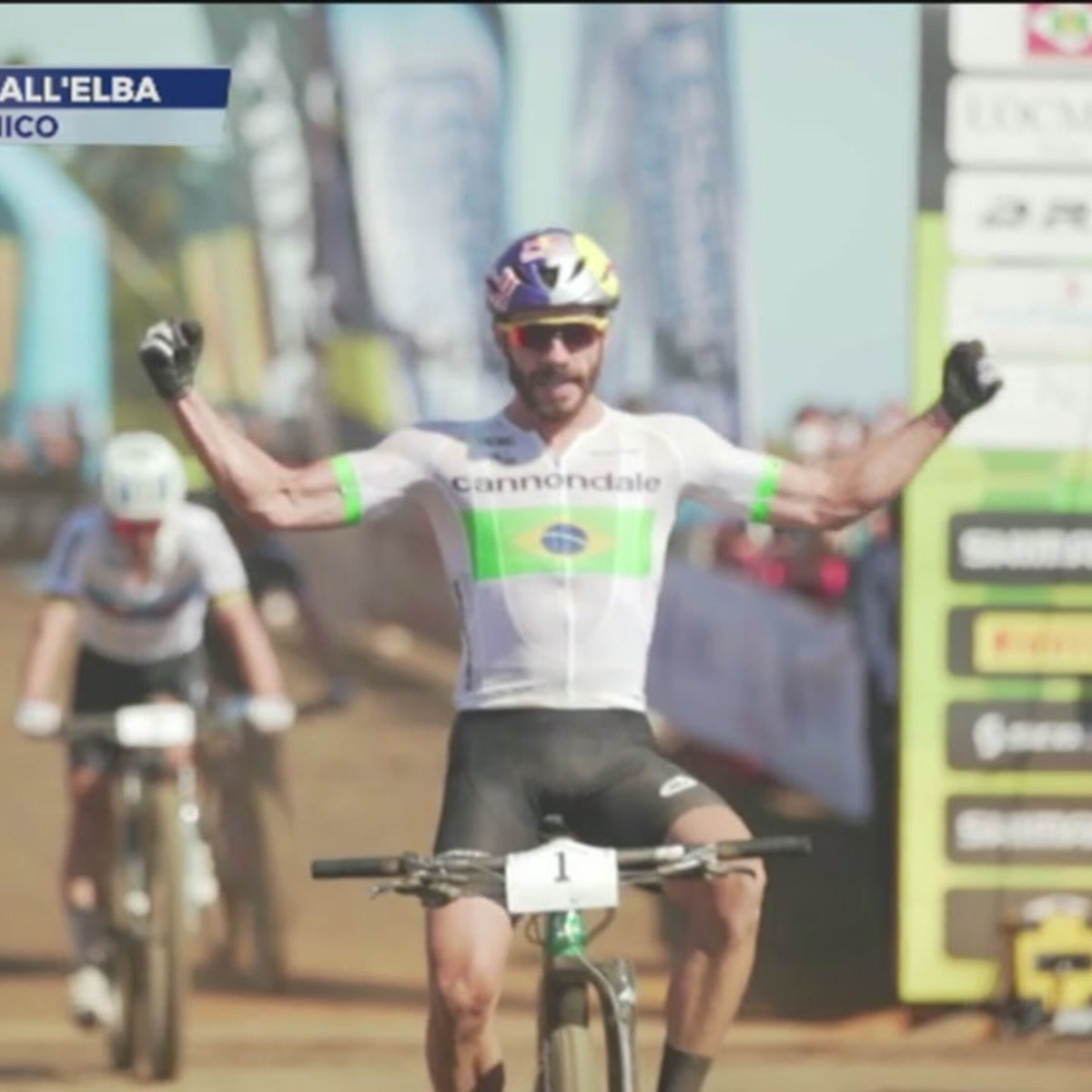 Mountain Bike, spettacolo all'Elba