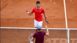 """DjokovicelogiaSinner: """"E' il futuro del tennis, anzi il presente"""""""