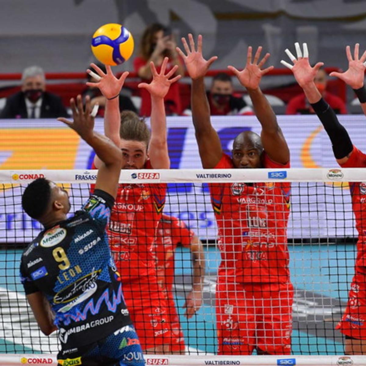 SuperLega, finale scudetto: Civitanova sbanca Perugia e conquista gara 1