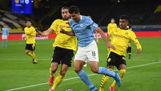 Il Dortmund ci prova, il City vola in semifinale