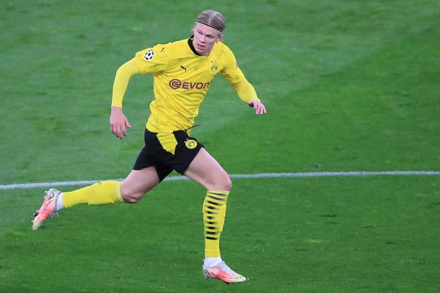 4) Haaland, Borussia Dortmund: 155,5 milioni