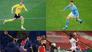 Aria nuova in Champions: tutti i giovani scesi in campo nei quarti