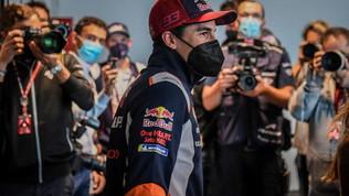 Il paddock della MotoGP riabbraccia Marc Marquez