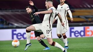 Roma-Ajax: le foto del match
