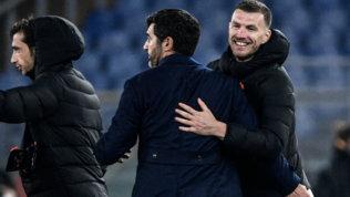 """Dzeko: """"Dura perdere la fascia, ma conta solo la Roma. Resto? Vediamo..."""""""