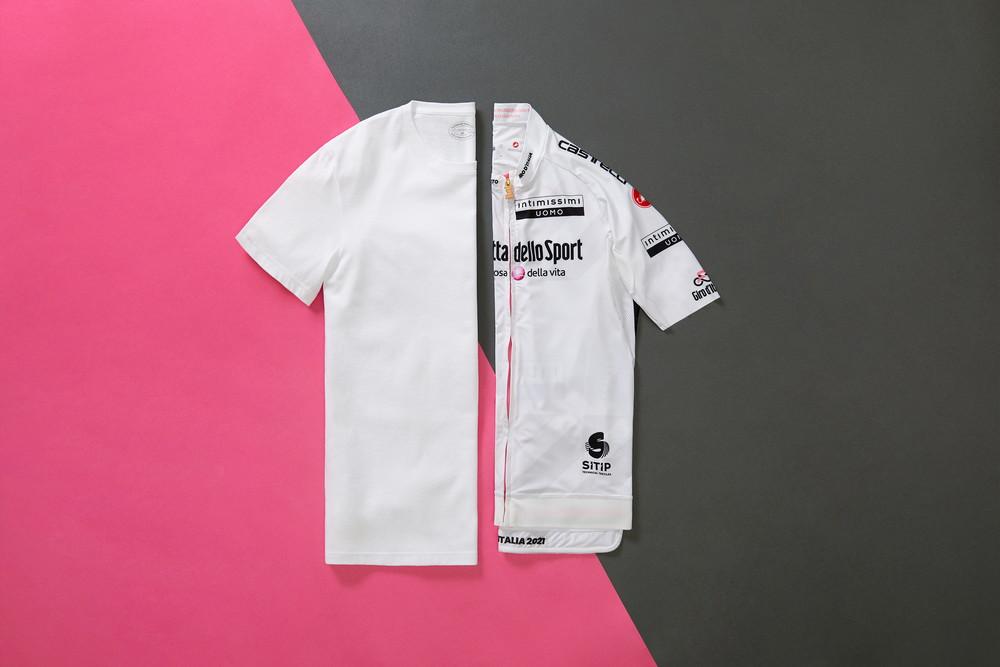<p>È la maglia destinata al miglior giovane, di un bianco che racchiude in sé tutti i colori, tutte le speranze, tutte le possibilità.</p>