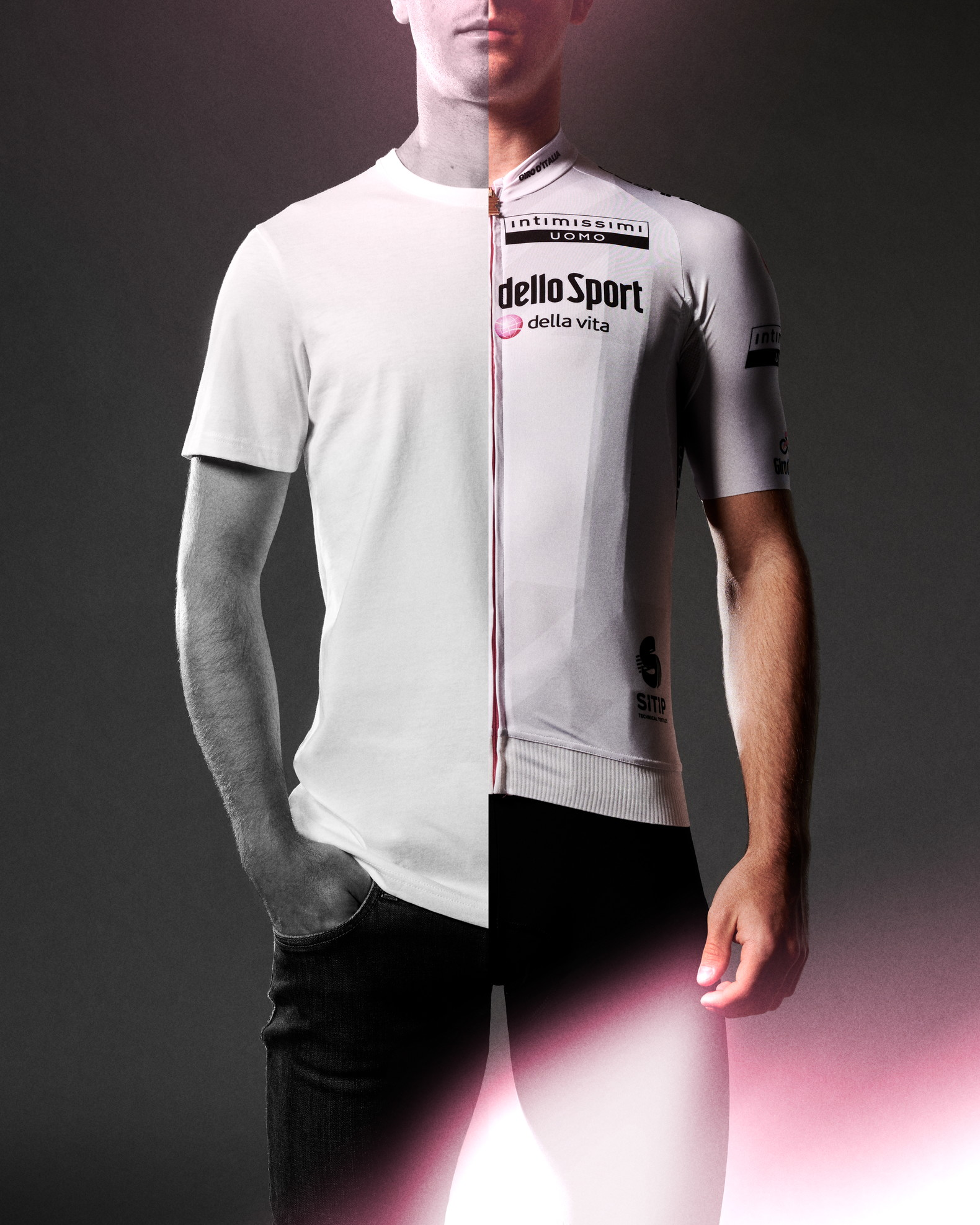 È la maglia destinata al miglior giovane, di un bianco che racchiude in sé tutti i colori, tutte le speranze, tutte le possibilità.