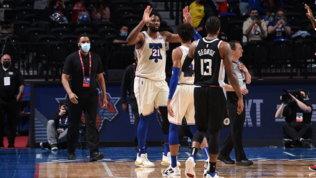 Embiid schianta i Clippers, Utah vince ma Mitchell va ko
