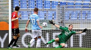 Lazio-Benevento: gol e spettacolo