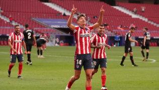 Liga, l'Atletico risorge: 'manita' all'Eibar e +3 sul Real, bloccato dal Getafe