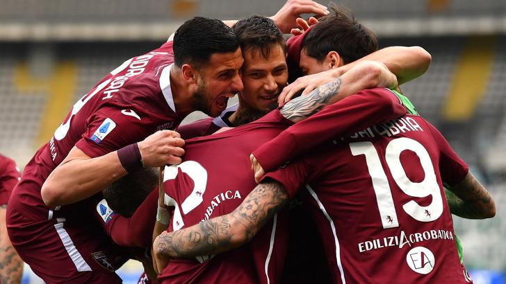 Sanabria la pareggia di testa: Torino-Roma 1-1LIVE