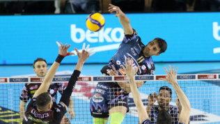 SuperLega, Perugia ritrova Atanasijevic e vittoria contro la Lube