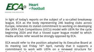 """Superlega, l'ECA dice no: """"Ci opporremo con forza, noi con la Uefa"""""""