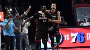 Miami affonda i Nets sulla sirena, Durant ancora ko. Sacramento sorprende i Mavs