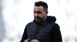 """De Zerbi: """"Non giocherei contro il Milan, Super League colpo di stato"""""""