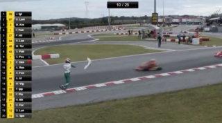 Rissa alla gara di kart,Luca Corberi squalificato 15 anni