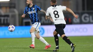Spezia-Inter, le immagini del match