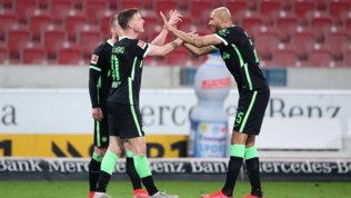 Il Wolfsburg si riprende il terzo posto,Dortmund a -4 dalla Champions