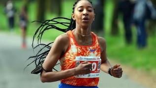 Najla Aqdeir: la gioia nella corsa