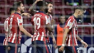 L'Atletico risponde al Real e torna in vetta da solo