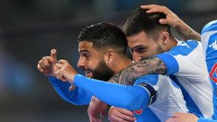 Napoli-show, un pokerissimo per la Champions. Per la Lazio si fa dura
