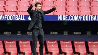 """Super League, Simeone: """"Grandi gesti il dietrofront e le scuse dell'Atletico"""""""