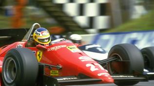 Un casco gialloblu ed il 27 rosso: ricordando Michele Alboreto