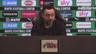 """De Zerbi: """"Il Sassuolo gioca sempre per vincere"""""""