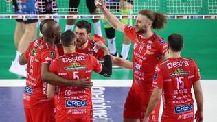 SuperLega,Civitanova supera Perugia in quattro set ed è campione d'Italia