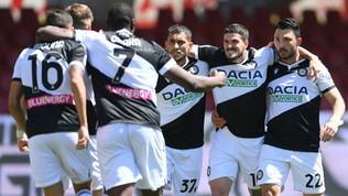 Benevento-Udinese, le foto del match