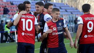 Cagliari-Roma: la foto della partita