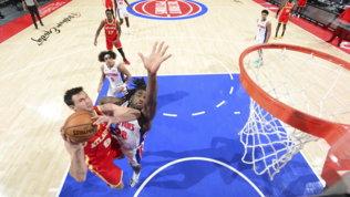 Gallinarie Atlanta ko con Detroit.Phoenix chiude la serie dei Knicks
