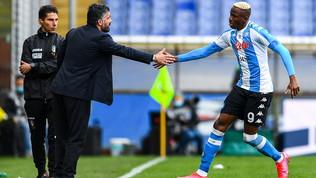 Napoli, le scelte di Gattuso e un Osimhen finalmente protagonista per l'obiettivo Champions