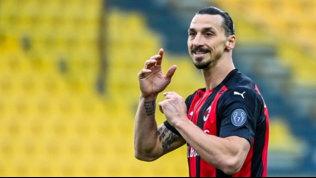 Ibra pronto per la volata Champions:recuperato per il Benevento