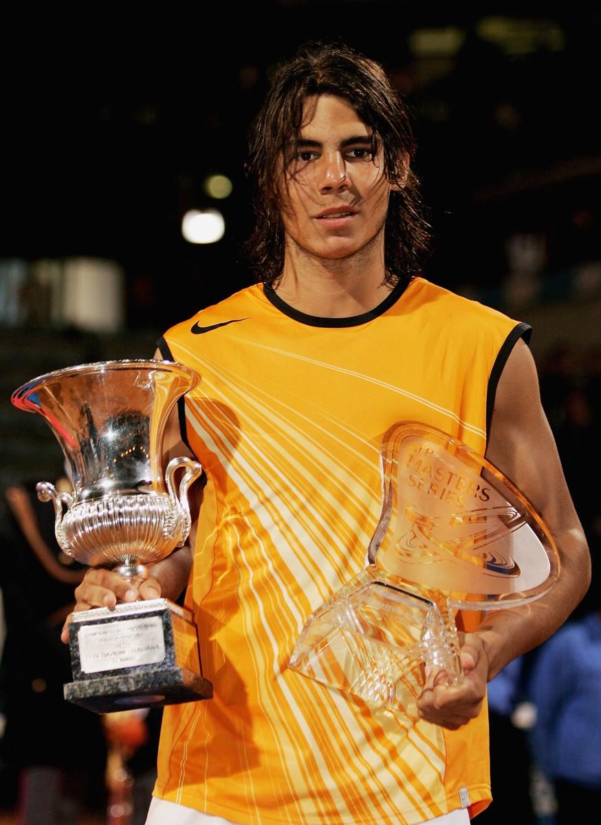 Indimenticabile la finale del 2005, vinta da Nadal sull'argentino Coria: cinque tiratissimi set per oltre cinque ore di lotta. Primo successo per lo spagnolo.