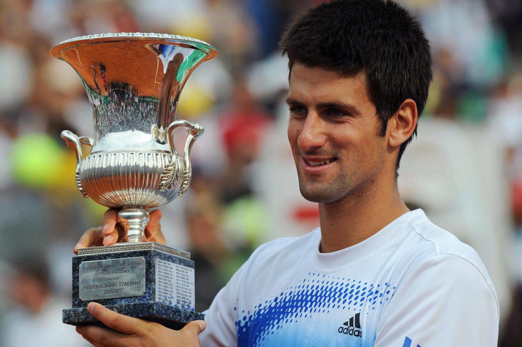 Il 2008 ha visto invece brillare Novak Djokovic, primo serbo a vincere al Foro Italico.